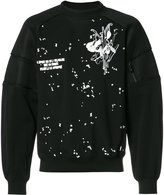 Carven embroidered trim sweatshirt