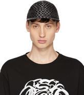 Versace Black Greek Key Cap
