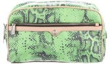 Rebecca Minkoff Leather-Trimmed Cosmetic Bag