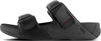 FitFlop Gogh Mens Leather Slides