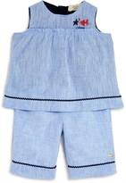 Armani Junior Girls' Linen Tunic & Shorts Set