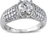 JCPenney MODERN BRIDE 1 CT. T.W. Diamond 14K White Gold Bridal Ring
