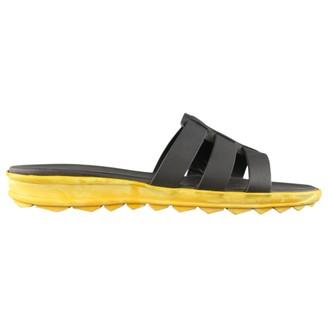 Christopher Kane Black Leather Sandals