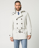 Le Château Cotton Blend Spread Collar Trench