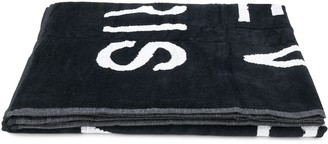 Givenchy Kids Logo Print Towel