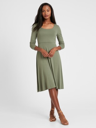 Banana Republic Scoop-Neck Knit Dress