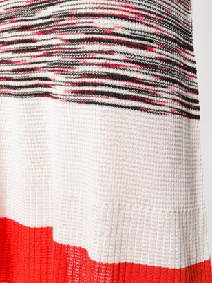 Missoni Striped Knitted Dress