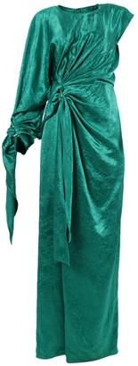 Sies Marjan Catherine One-shoulder Gown Green