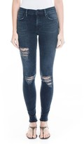 Level 99 Women's Tanya High Waist Distressed Skinny Jeans