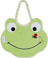 Zigozago Frog Bib