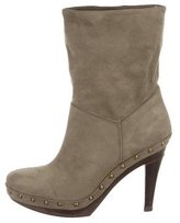 Stella McCartney Suede Ankle Boots