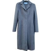 Prada Grey Cashmere Coat