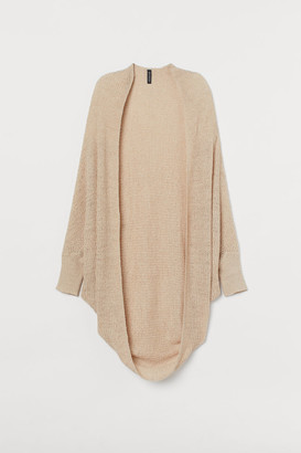 H&M Loose-knit Cardigan - Beige