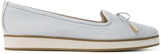 Baldinini Bow Slip-On Loafers