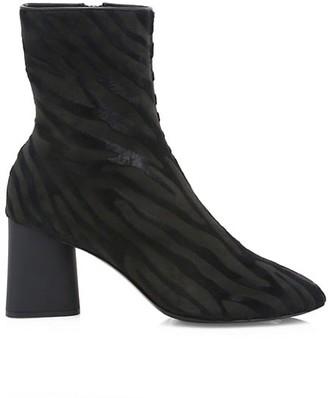 Rag & Bone Fei Zebra-Stripe Calf Hair Ankle Boots