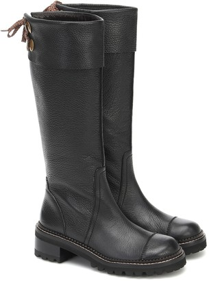 See by Chloe Knee-high leather boots