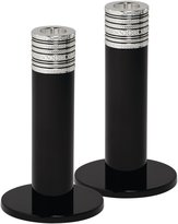 Wedgwood Vera Wang With Love Candlestick Pair - Noir