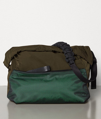 Bottega Veneta LARGE MESSENGER IN PAPER TOUCH NYLON