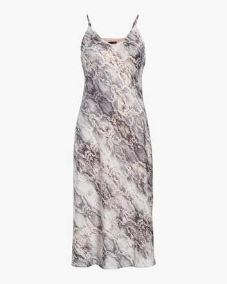 Krisa Cami Bias Midi Slip Dress
