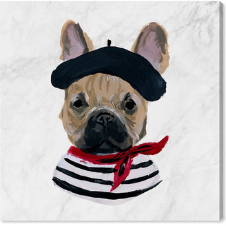 Oliver Gal French Frenchie By The Artist Co. Canvas Art