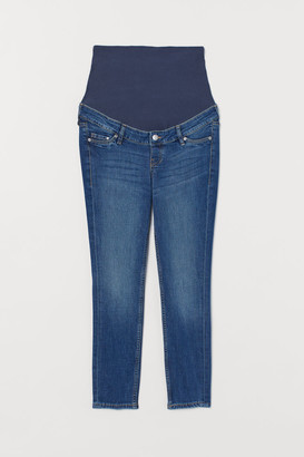 H&M MAMA Skinny Ankle Jeans - Blue