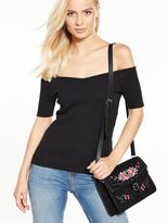 Very Rib Bardot Top