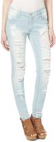 Dollhouse Nutcracker Distressed Skinny Jeans - Plus