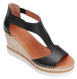 Gentle Souls by Kenneth Cole Elyssa Easy T-Strap Wedge Sandals Women's Shoes