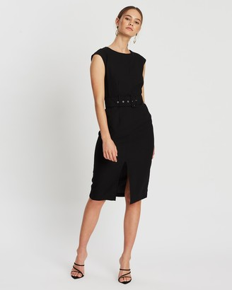 Atmos & Here Atmos&Here Madeline Belted Dress