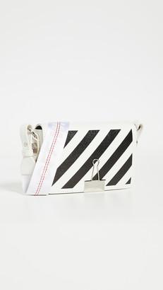 Off-White Off White Diagonal Mini Flap Bag