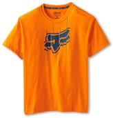 Fox Halstead S/S Tech Tee (Big Kids) (Day Glo Orange) - Apparel