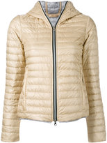 Duvetica hooded puffer jacket - women - Cotton/Feather Down/Polyamide - 38