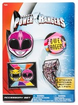 Power Rangers Girls' Power Ranger Patches - Multi-Colored