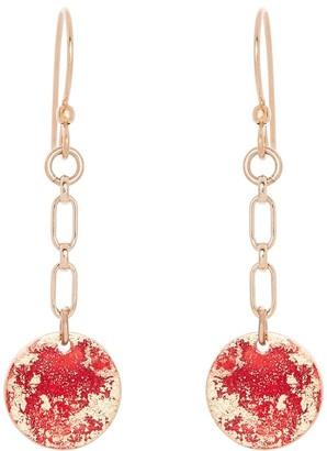 Odell Design Studio Gold Petite Dangle Earrings - Fire