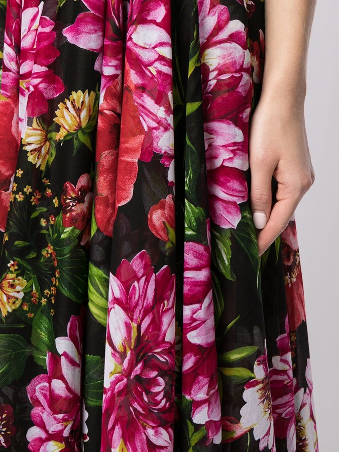 Thumbnail for your product : Samantha Sung Aster floral print sundress