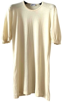 Chanel Yellow Cashmere Top for Women Vintage