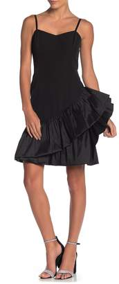 Marina Sleeveless Ruffle Mini Dress
