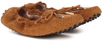 Tod's Exclusive to Mytheresa Gommino suede moccasins
