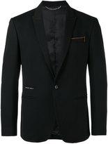Philipp Plein contrast stitch blazer - men - Spandex/Elastane/Viscose/Polyimide - 48