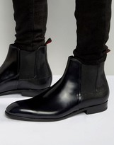 Hugo By Hugo Boss Dressapp Rub Off High Shine Chelsea Boots