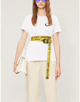 Off-White Off White C/O Virgil Abloh Markers classic-fit cotton-jersey T-shirt