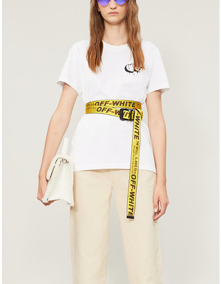Off-White Markers classic-fit cotton-jersey T-shirt