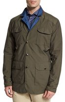 Peter Millar Canton Reversible Field Jacket, Olive