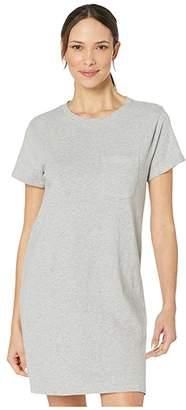 Pact T-Shirt Pocket Dress (Heather Grey) Women's Dress