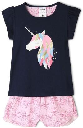Milkshake Unicorn Pyjama Set