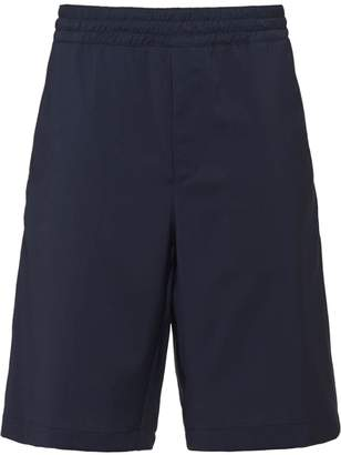 Prada poplin tailored shorts