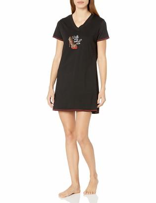 Rene Rofe Women's V Neck Night-Shirt-