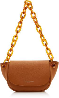 Simon Miller Bend Textured-Leather Shoulder Bag