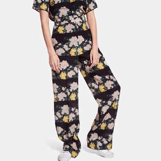 Rochas Floral Pajama Pants