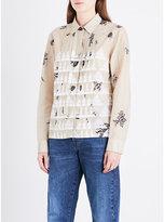 Dries Van Noten Paisley and geometric-print cotton shirt